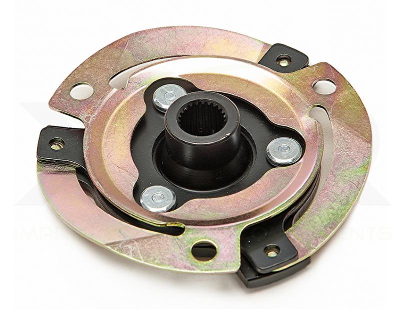 Replacement shear plate clutch disc