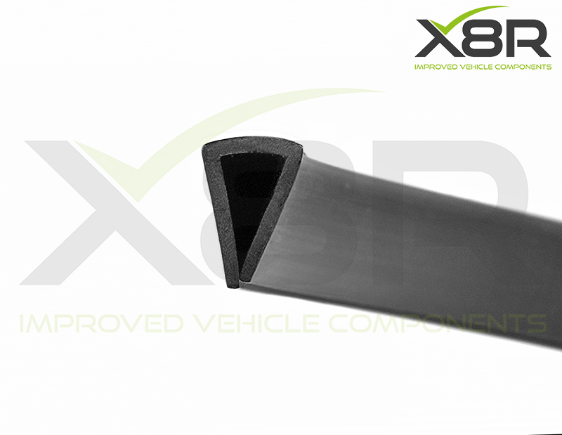 black rubber seal trim for cars