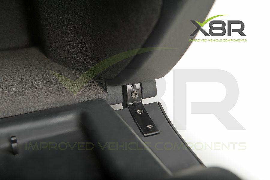 Audi A4 glove box hinge replacement bracket fitted