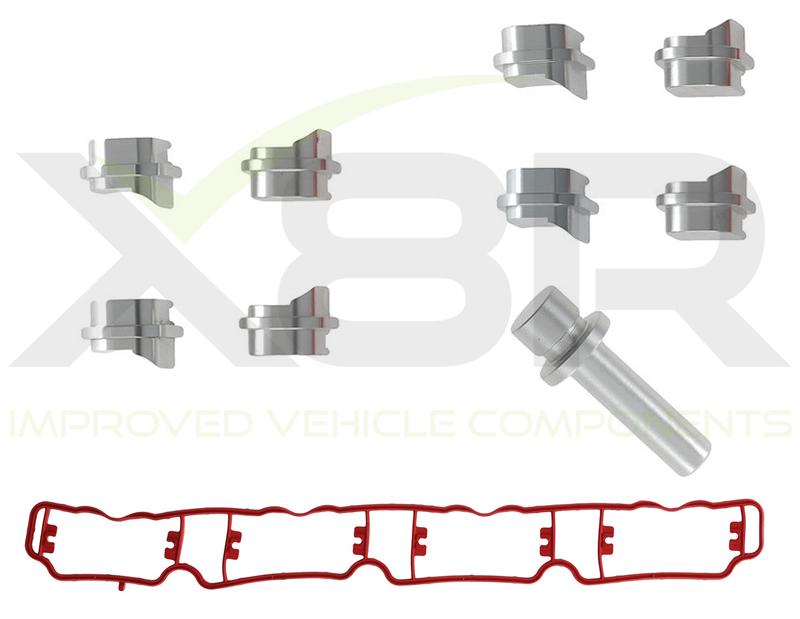 2.0 tfsi inlet intake manifold blanking delete runner kit