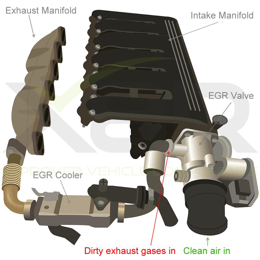 Shudder Valve EGR Cooler Delete Blanking Kit For BMW 5 7