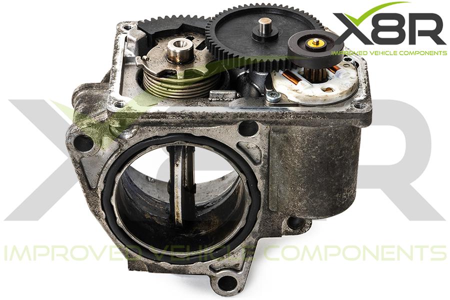 gears installed throttle body motor