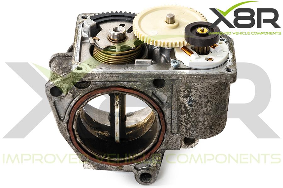 throttle body faulty gears