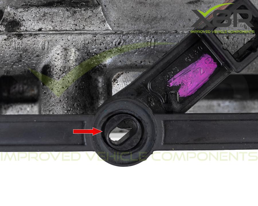 Mercedes OM642 Intake Inlet Manifold Swirl Flap Repair