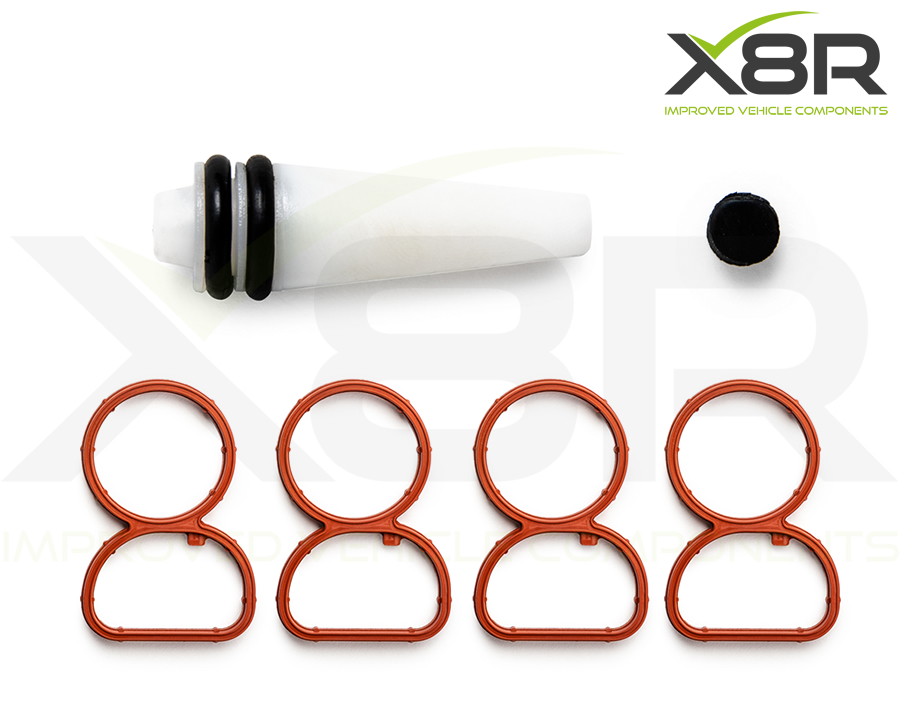 bmw n47 manifold plastic bung full kit