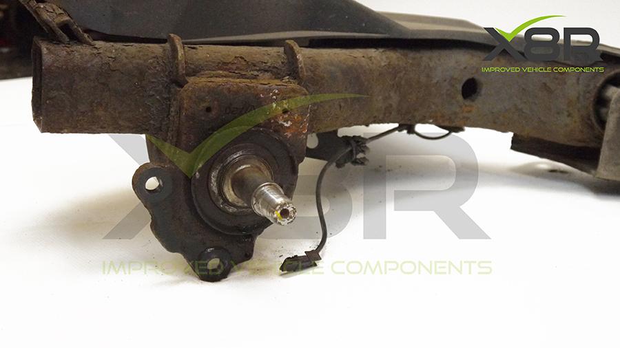 rusted abs sensor holder